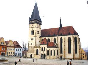 Bardejov Bazilika sv. Egídia