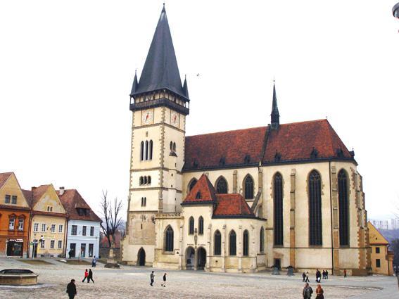 Svadobné oznámenie a ostatné na 1.10.2005 - Bardejov Bazilika sv. Egídia