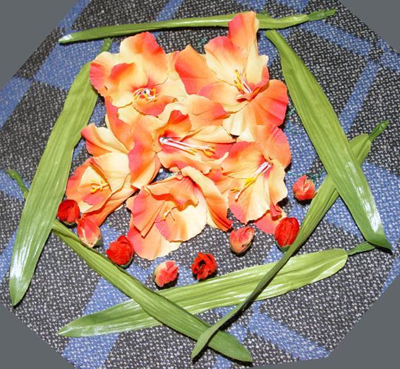Svadobné oznámenie a ostatné na 1.10.2005 - kvety na svadobný stôl