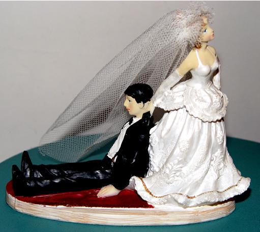 Svadobné oznámenie a ostatné na 1.10.2005 - postavička na tortu 2