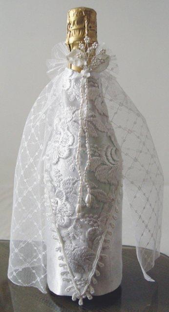 Svadobné oznámenie a ostatné na 1.10.2005 - oblečenie na šampanské nevesta