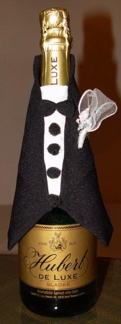 Svadobné oznámenie a ostatné na 1.10.2005 - oblečenie na šampanské ženích