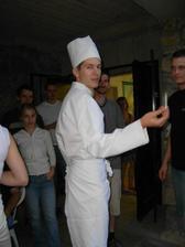 """""""šéfkuchař"""" Vítek"""