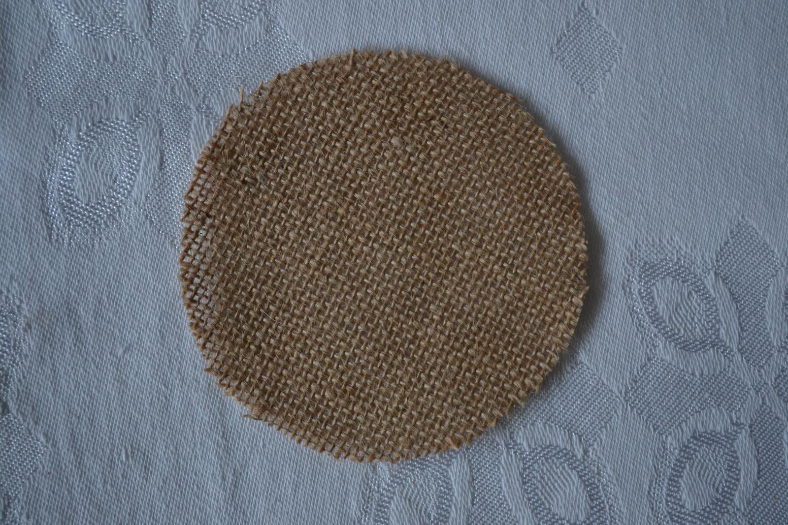 Juta - Jutové kruhy priemer 11cm - Obrázok č. 1