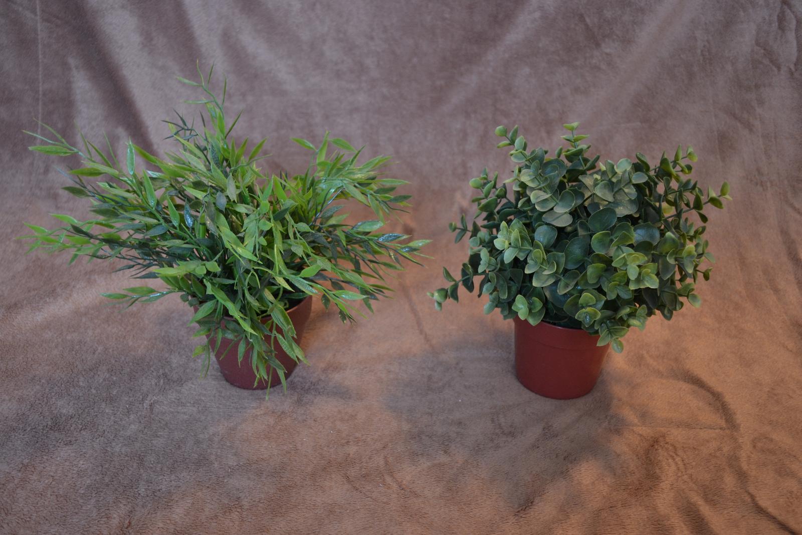 Umelé kvety v črepníkoch - Obrázok č. 3