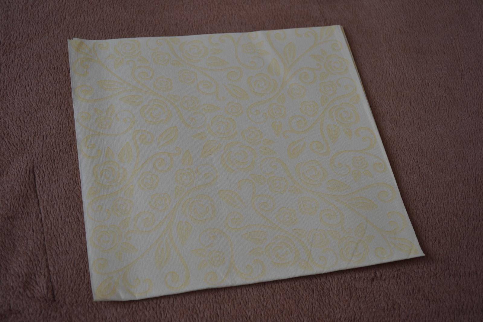 Luxusné papierové obrúsky 40ks - Obrázok č. 3