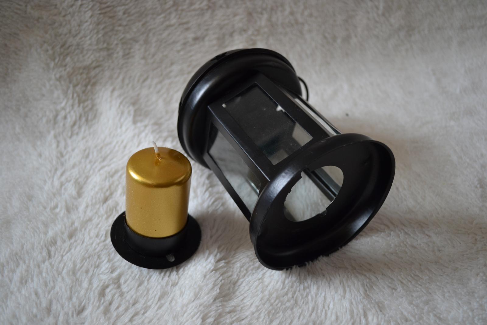 Lampáš/lucernička na sviečky = 4ks - Obrázok č. 4