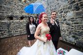 Svatební šaty vel. 36-42, možná i větší, 38