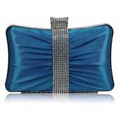 Dámské psaníčko LS Fashion Melissa - modrá,