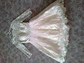 Růžovo-zlaté šaty Chi Chi London, 38