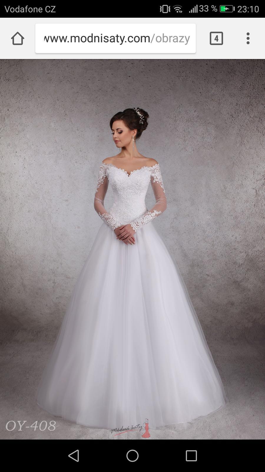Saty v realu   - - Svatební šaty 1b2666ef9e