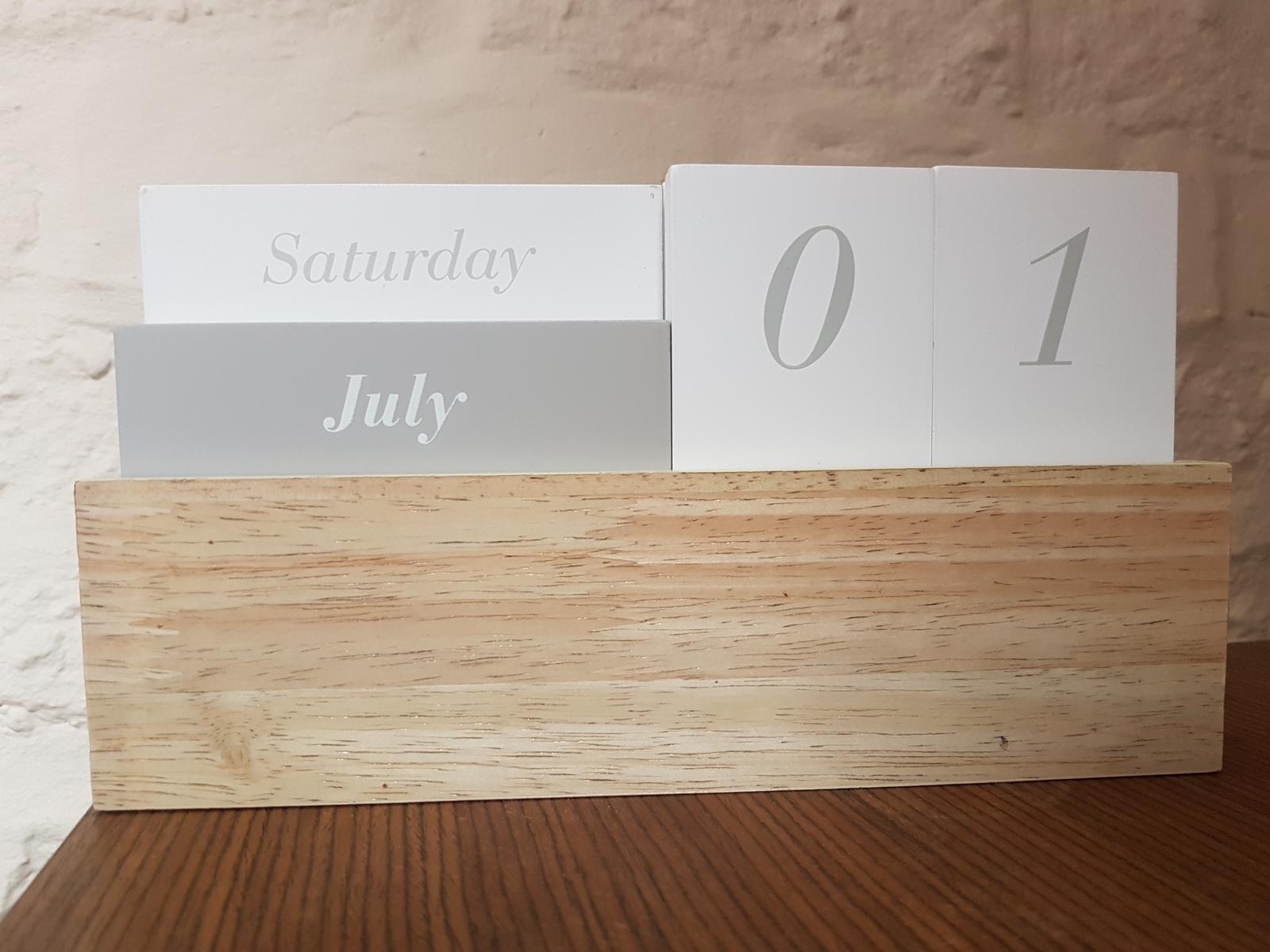 Drevenny kalendarik - Obrázok č. 1