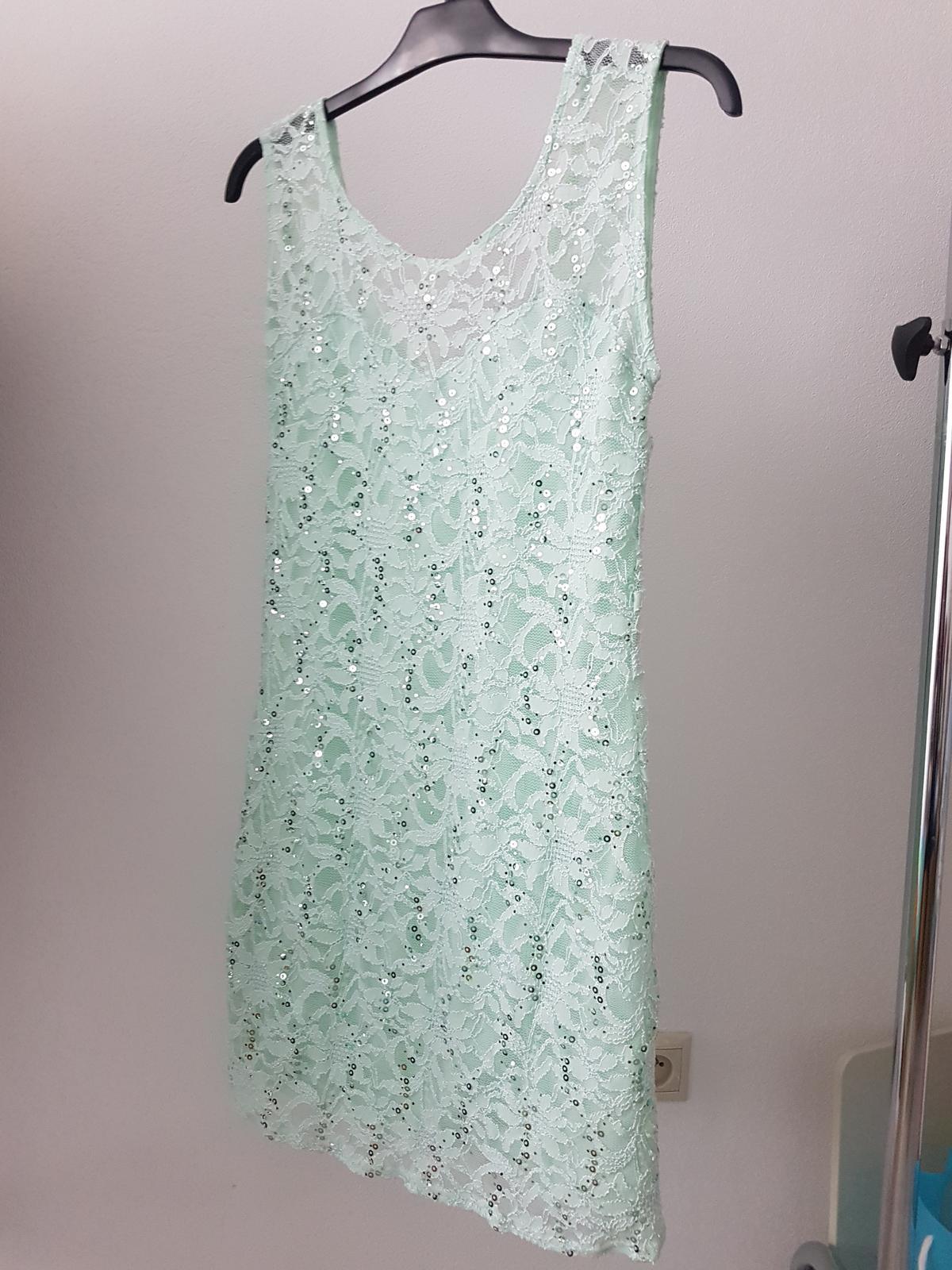 Mentolové šaty  - Obrázok č. 1