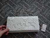 Nevyužité psaníčko kabelka bílá,pošta zdarma,