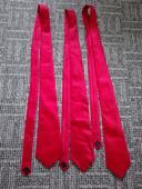 3x stejná tm.červená kvalitní kravata pošta zdarma,