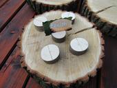 Dřevěné dekorace - přírodní styl,