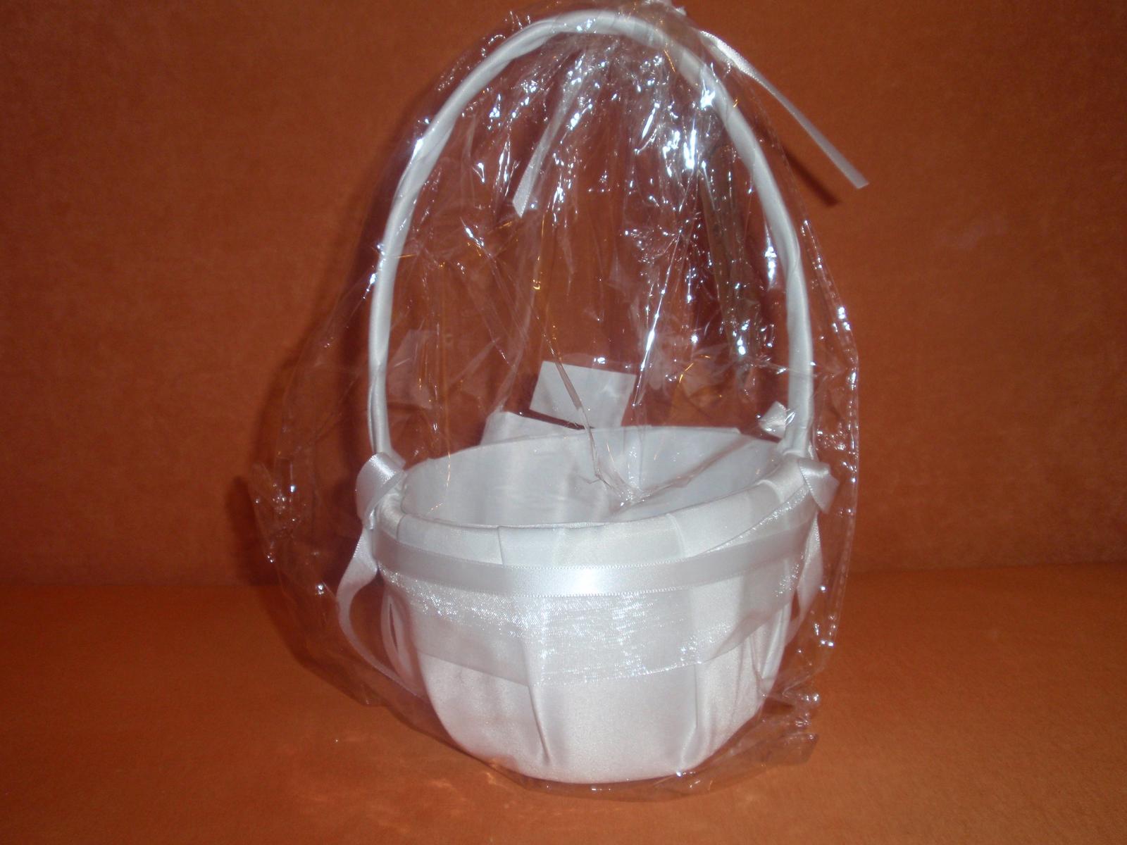 bílý košíček - Obrázek č. 2