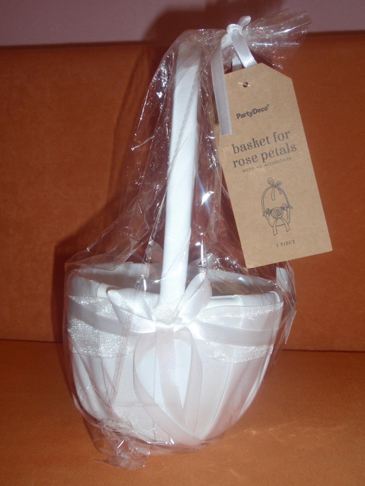 bílý košíček - Obrázek č. 1