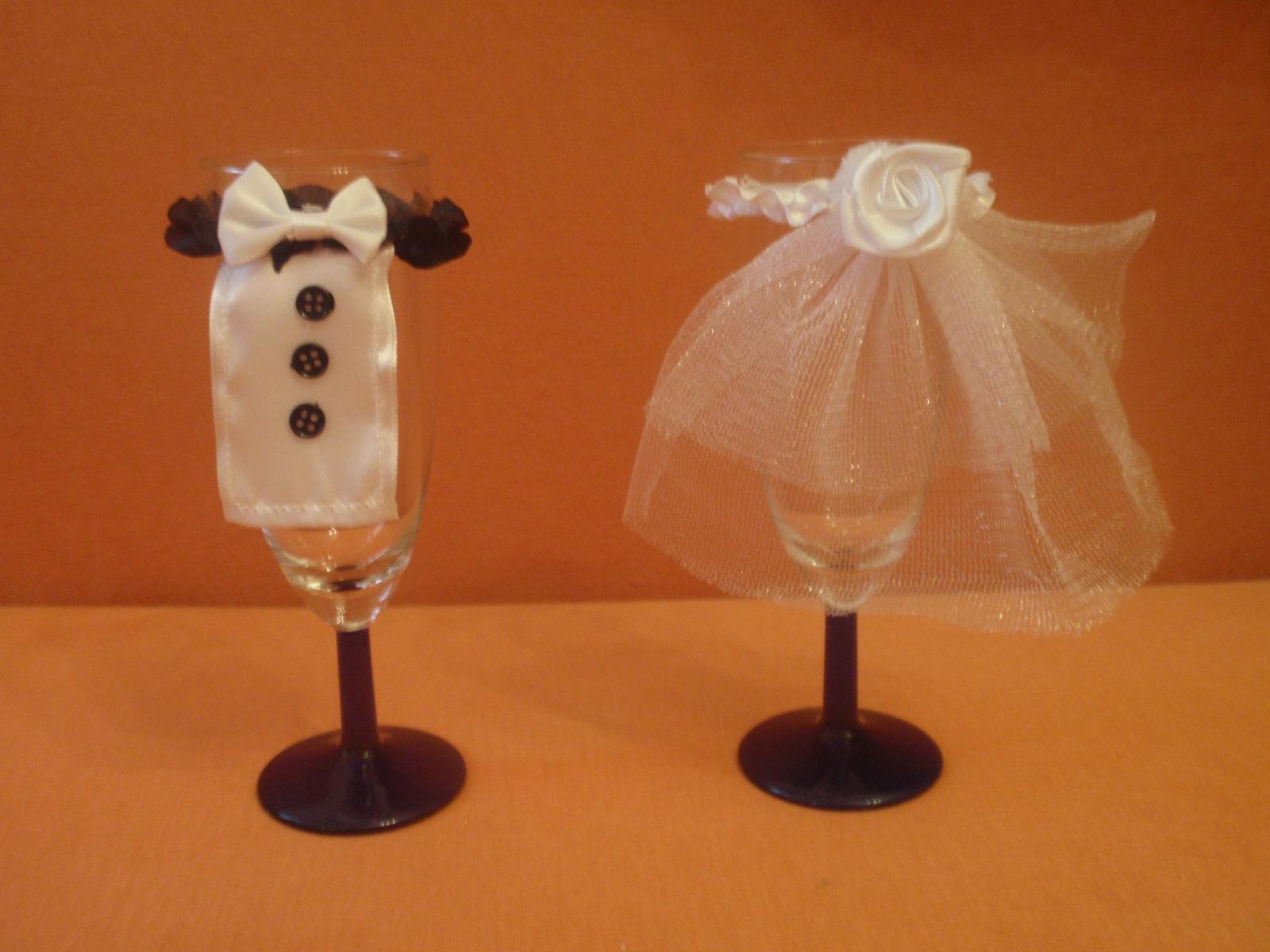 nevěsta a ženich na skleničky - Obrázek č. 1