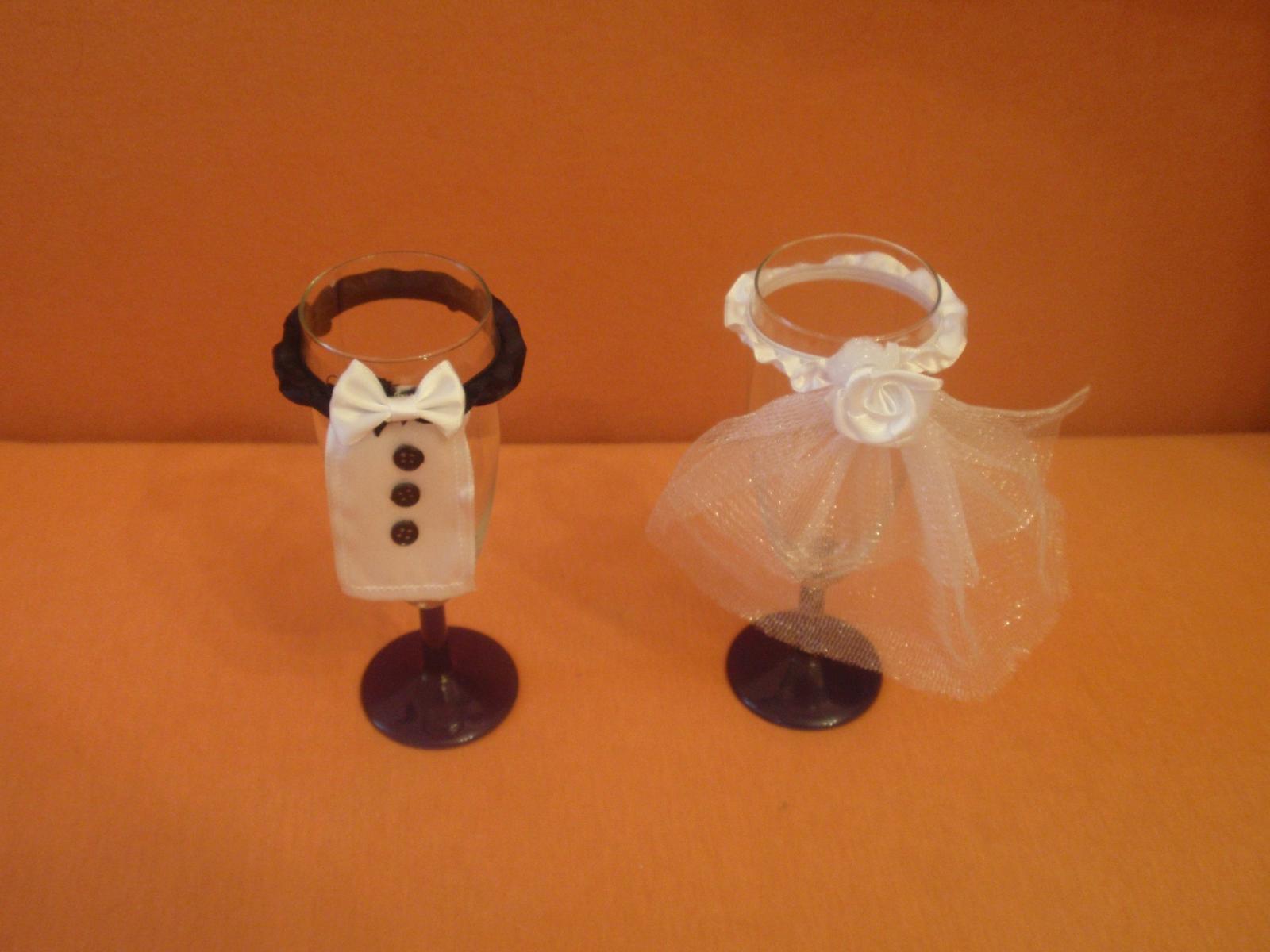 nevěsta a ženich na skleničky - Obrázek č. 3
