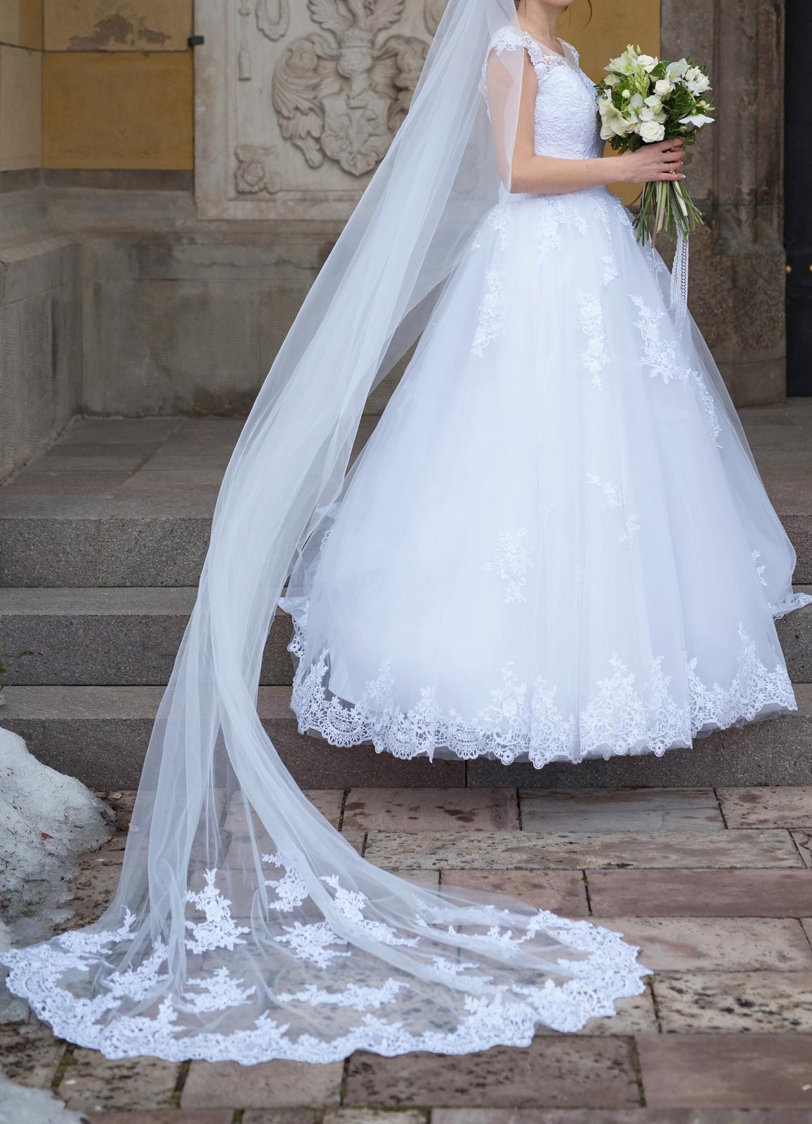 svadobné šaty v. 34-38 - Obrázok č. 1