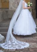 svadobné šaty v. 34-38, 36