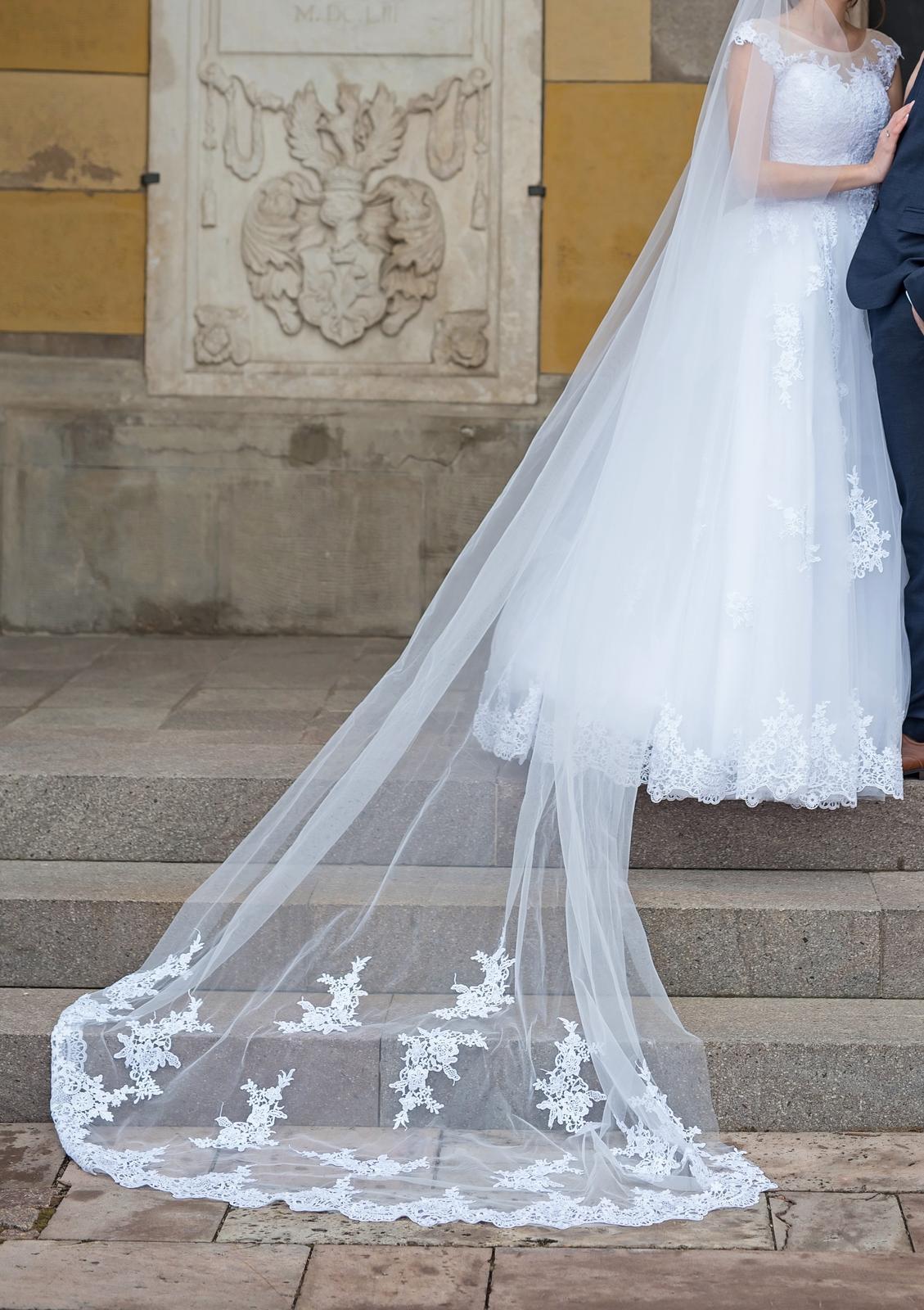 svadobné šaty v. 34-38 - Obrázok č. 2