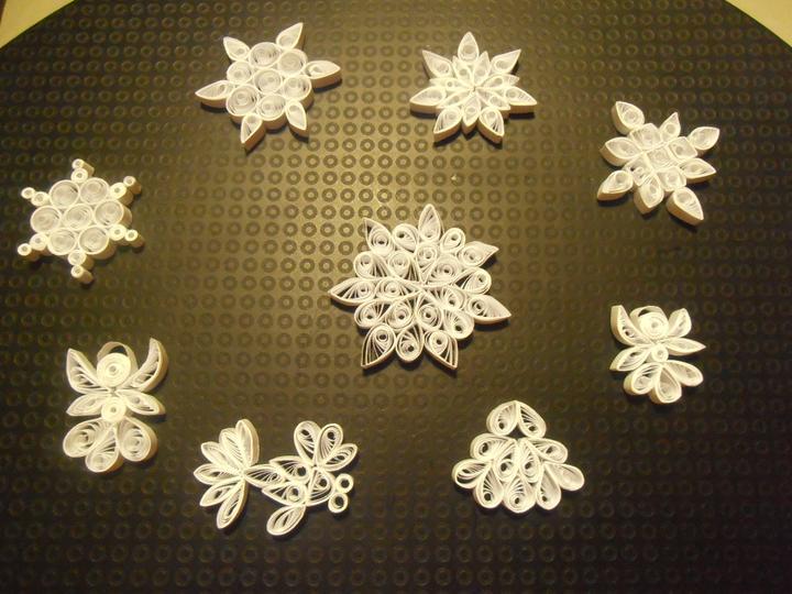 Naše handmade Vánoce 2012 - maminka po večerech u telky motá a motá :-D