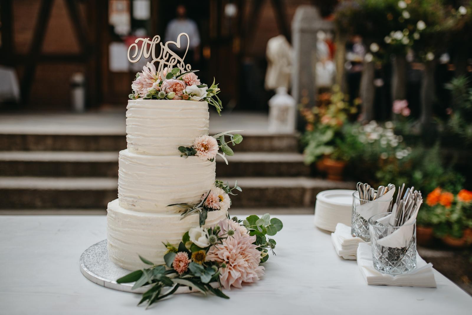 Náš svatební dort -... - Obrázek č. 1