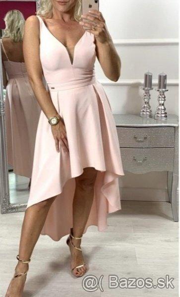 Popolnočné/spoločenské šaty veľkost S - Obrázok č. 1