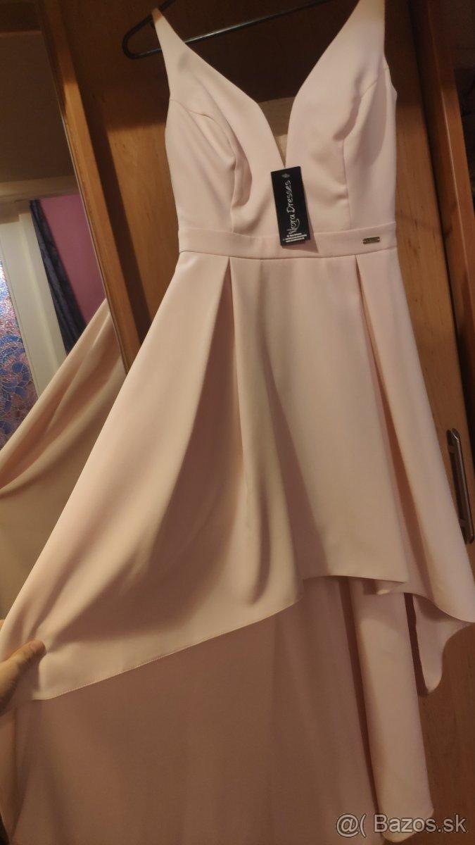 Popolnočné/spoločenské šaty veľkost S - Obrázok č. 4