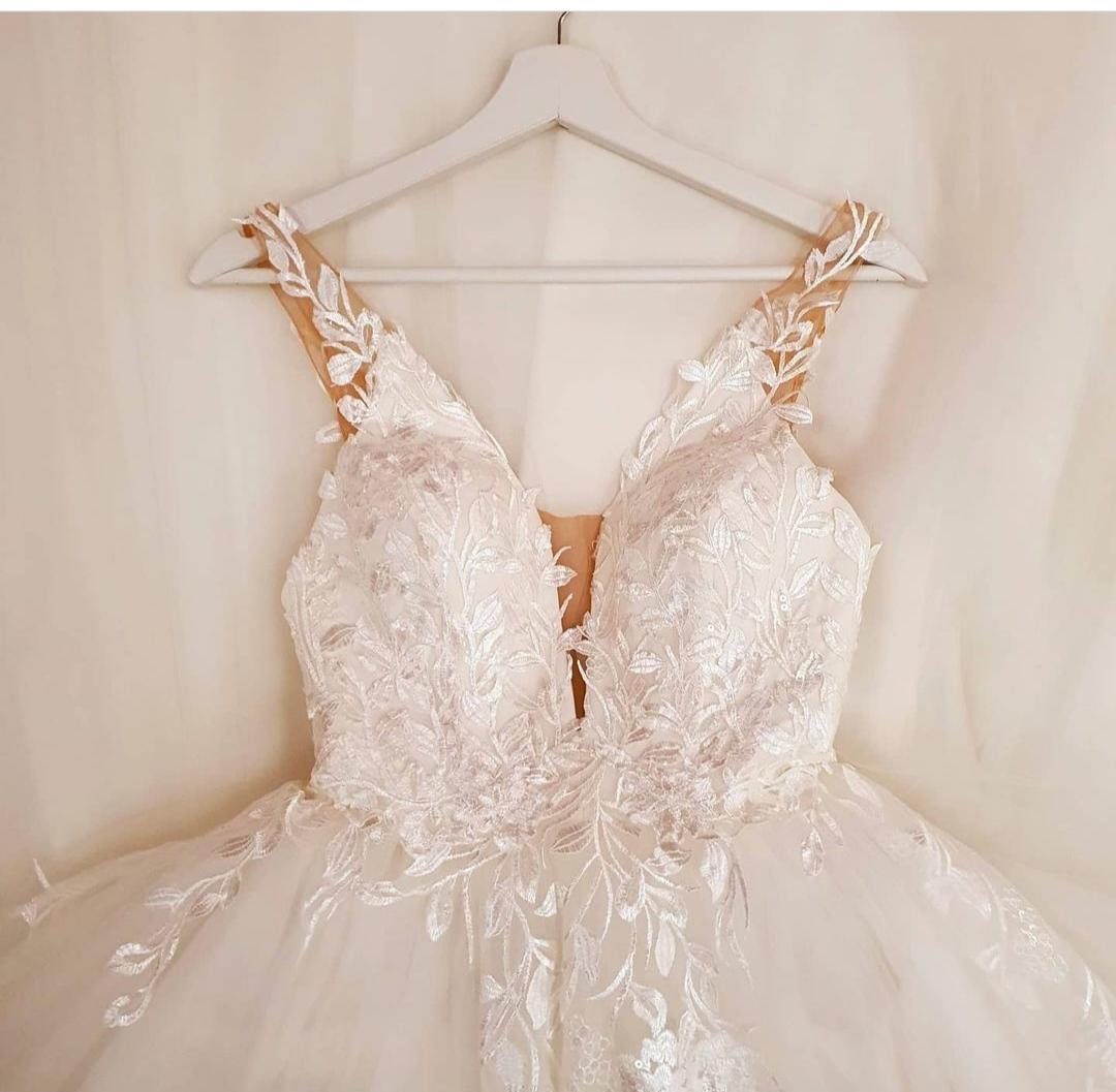 Svadobné šaty Hadassa 36 - Obrázok č. 1