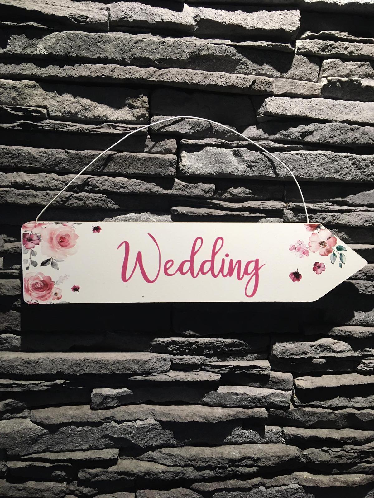 Ukazatel kde je svatba :) - Obrázek č. 1