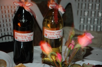 domácí vínečko od tati z jižní moravy... :-)