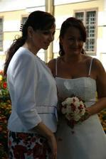 má úžasná svědkyně a nejlepší kamarádka :-)