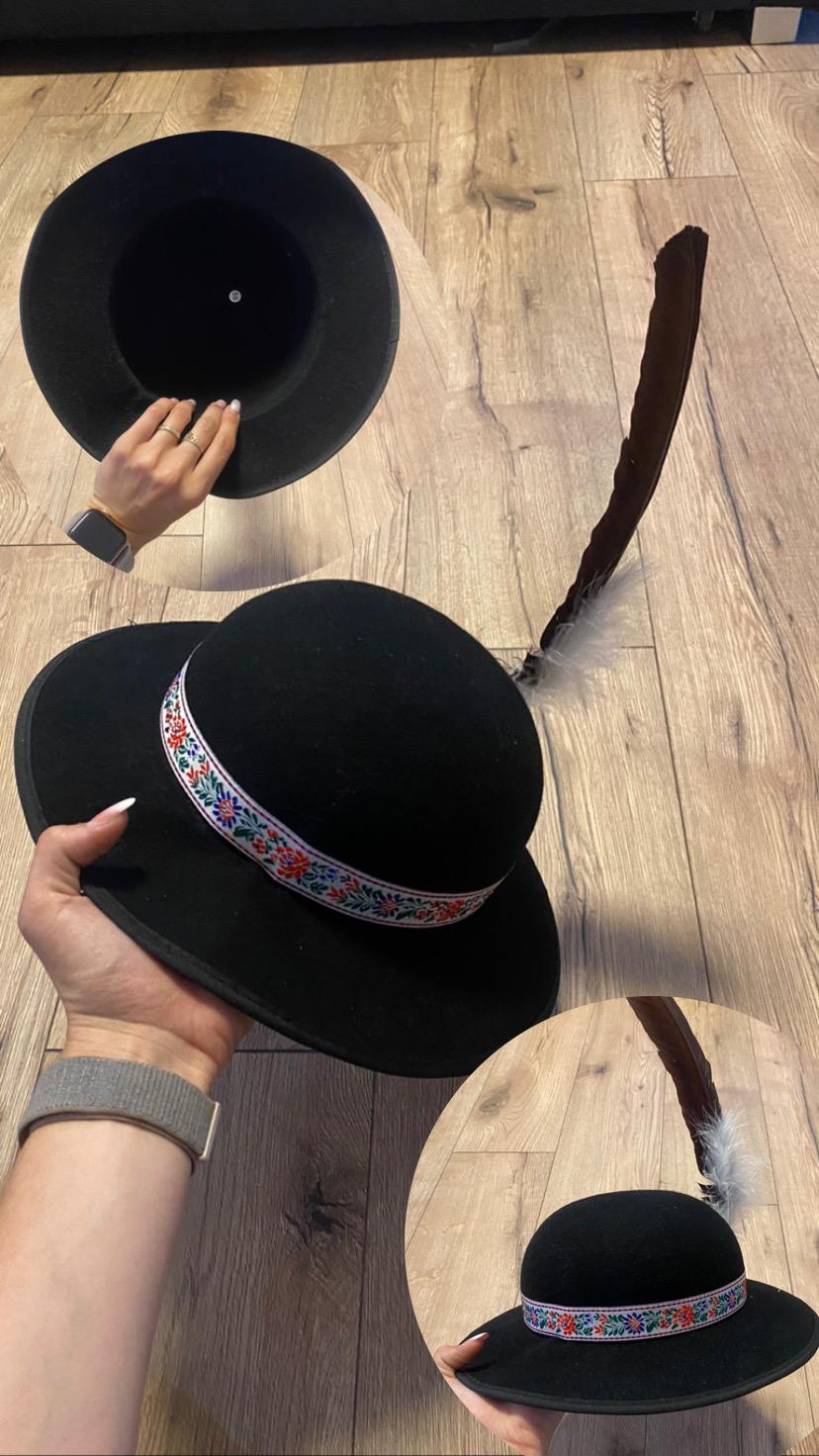 klobúk a šatka - Obrázok č. 1