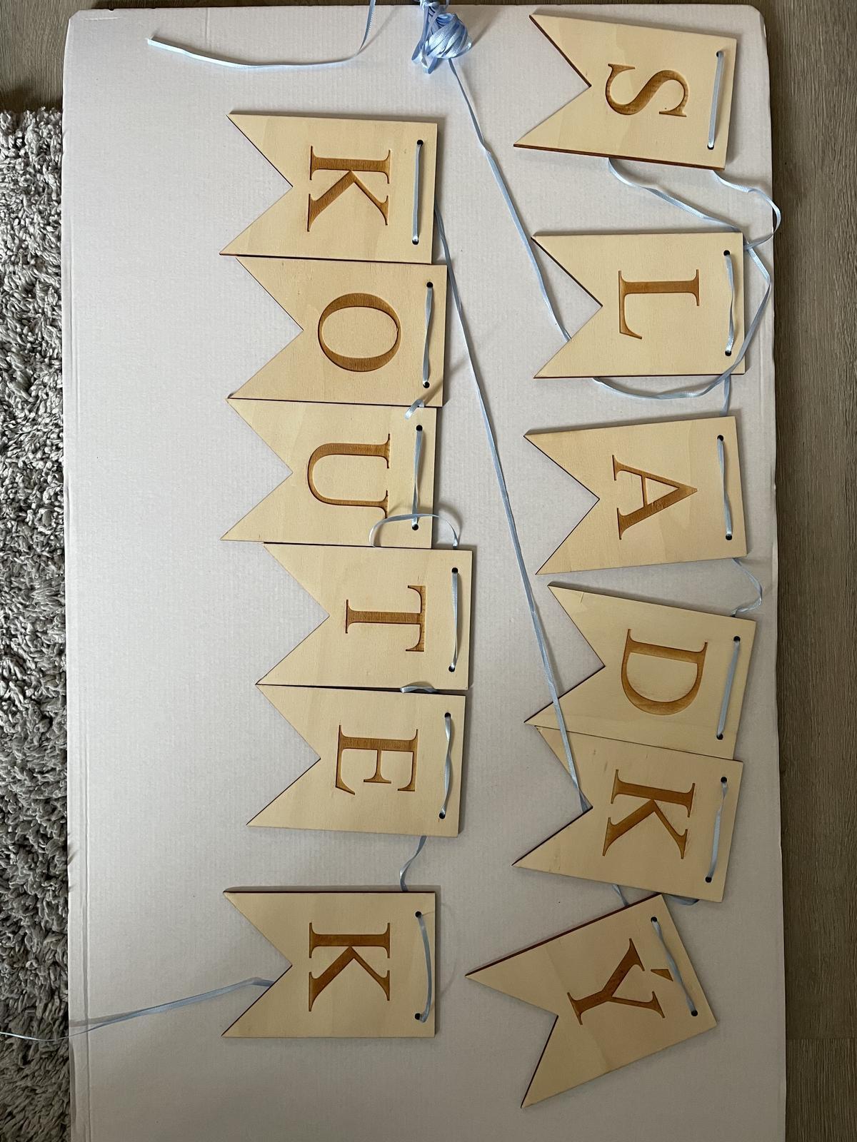 dřevěné nápisy - Obrázek č. 1