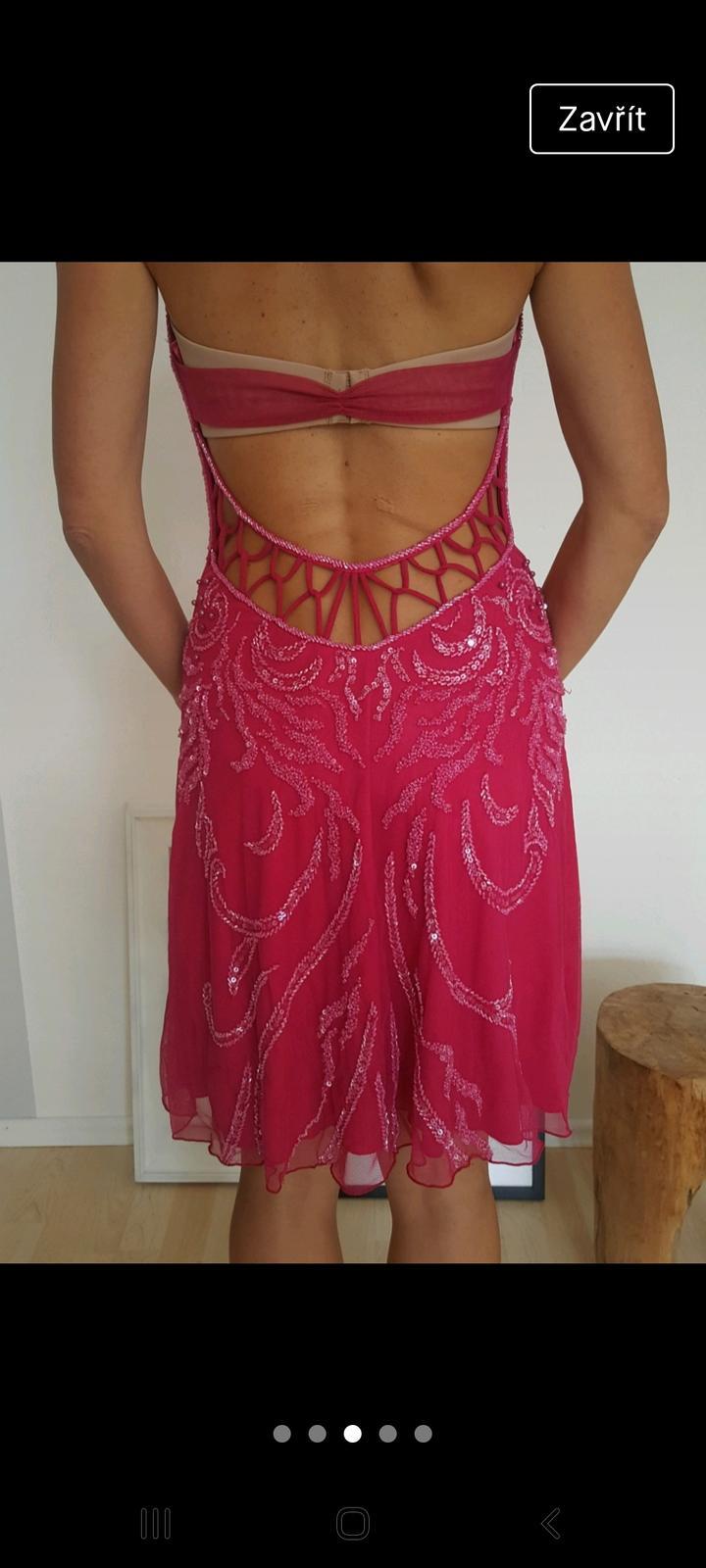 Krásné luxusní šaty z Dubaje, vel. S, NOVÉ! - Obrázek č. 1