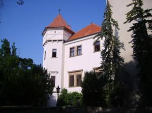 zámek Konopiště.