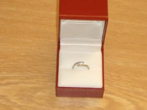 můj zásnubní prstýnek od Pavlíka