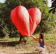 Krásné létající přáníčko do nebe.....