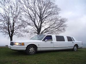 limuzínka pro nevěstu