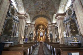 kostel ve Vranově u Brna