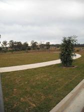 park cez cestu. tam uz nebudu stavat ziadne domy
