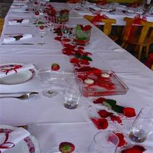 dekorace v červené