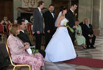 svatební obřad :-)