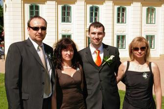 se Slovenskou částí rodiny