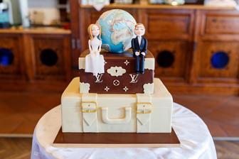 náš cestovní dort