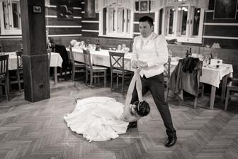 náš speciální první tanec