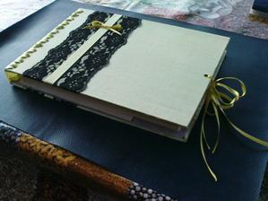 vyrobila jsem si knihu hostů